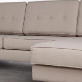 Sofa Chaiselongue rechts 4-Sitzer- aus Kunstleder Abuba, Miniaturansicht 5