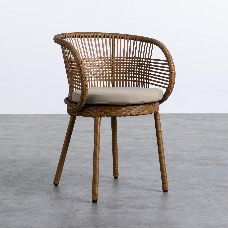 Outdoor Stuhl aus Rattan Auxis, Galeriebild 1