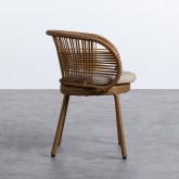 Outdoor Stuhl aus Rattan Auxis, Miniaturansicht 2