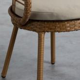 Outdoor Stuhl aus Rattan Auxis, Miniaturansicht 5