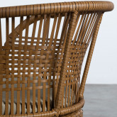 Outdoor Stuhl aus Rattan Auxis, Miniaturansicht 6