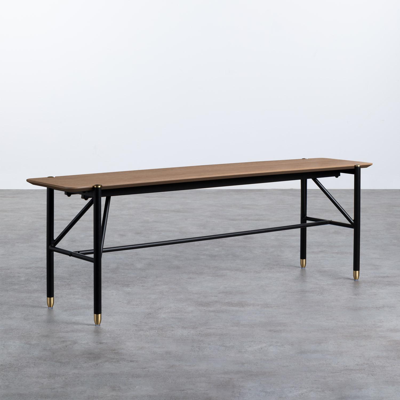 Bank aus Holz und Metall Hule, Galeriebild 1