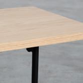 Couchtisch 3 Tischplatten aus Holz und Stahl (105x35 cm) Tri, Miniaturansicht 5