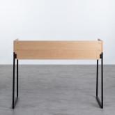 Schreibtisch aus MDF und Metall Esli, Miniaturansicht 3