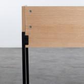 Schreibtisch aus MDF und Metall Esli, Miniaturansicht 5
