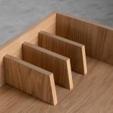 Schreibtisch aus MDF und Metall Esli, Miniaturansicht 6