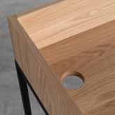 Schreibtisch aus MDF und Metall Esli, Miniaturansicht 7