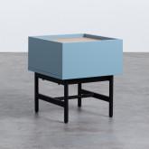 Nachttisch aus MDF und Metall Tuika, Miniaturansicht 1
