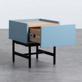 Nachttisch aus MDF und Metall Tuika, Miniaturansicht 3