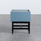 Nachttisch aus MDF und Metall Tuika, Miniaturansicht 4