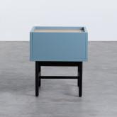 Nachttisch aus MDF und Metall Tuika, Miniaturansicht 5