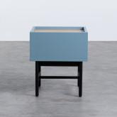 Nachttisch aus MDF und Metall Tuika, Miniaturansicht 6