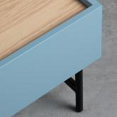 Nachttisch aus MDF und Metall Tuika, Miniaturansicht 8
