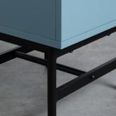 Nachttisch aus MDF und Metall Tuika, Miniaturansicht 9