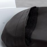 Quadratischer Kissen aus Kunstleder für Stuhl Industrial, Miniaturansicht 4
