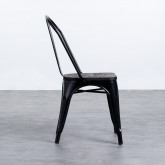 Stuhl Industrial - Powdercoating Black -, Miniaturansicht 2