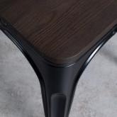 Stuhl Industrial - Powdercoating Black -, Miniaturansicht 4