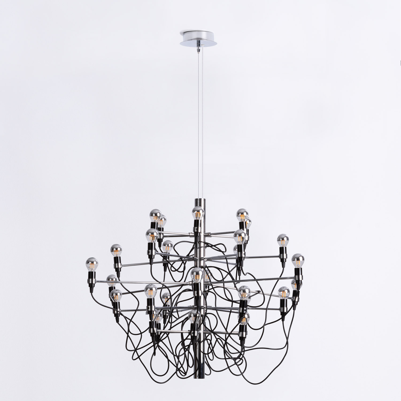 Lampe aus Stahl Salone 30, Galeriebild 1