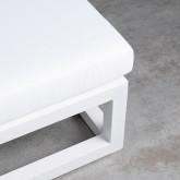 Verstellbare Doppel-Liege aus Aluminium und Stoff Kewin, Miniaturansicht 11