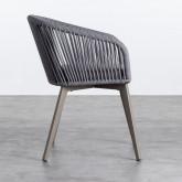 Outdoor Stuhl aus Aluminium und Seil Xile, Miniaturansicht 3