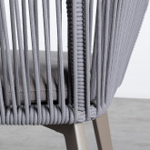 Outdoor Stuhl aus Aluminium und Seil Xile, Miniaturansicht 6