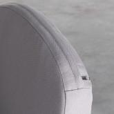 Outdoor Stuhl aus Aluminium und Seil Xile, Miniaturansicht 7