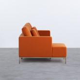 Sofa Chaiselongue links 4-Sitzer- aus Stoff Ynzha, Miniaturansicht 2