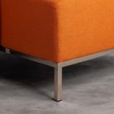 Sofa Chaiselongue links 4-Sitzer- aus Stoff Ynzha, Miniaturansicht 4