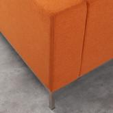 Sofa Chaiselongue links 4-Sitzer- aus Stoff Ynzha, Miniaturansicht 6