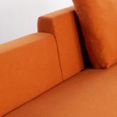 Sofa Chaiselongue links 4-Sitzer- aus Stoff Ynzha, Miniaturansicht 7
