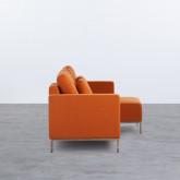 Sofa Chaiselongue rechts 4-Sitzer- aus Stoff Ynzha, Miniaturansicht 3