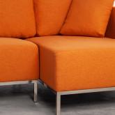 Sofa Chaiselongue rechts 4-Sitzer- aus Stoff Ynzha, Miniaturansicht 5