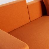Sofa Chaiselongue rechts 4-Sitzer- aus Stoff Ynzha, Miniaturansicht 7