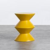 Niedriger Hocker aus Glasfiber Jusmar (50 cm), Miniaturansicht 1