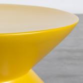 Niedriger Hocker aus Glasfiber Jusmar (50 cm), Miniaturansicht 4