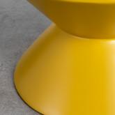 Niedriger Hocker aus Glasfiber Jusmar (50 cm), Miniaturansicht 5