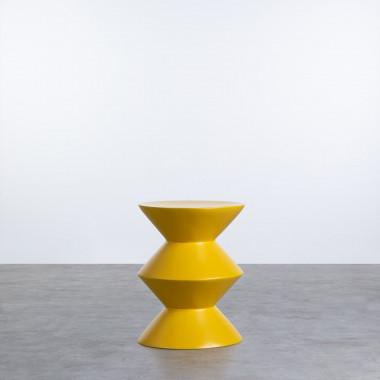 Niedriger Hocker aus Glasfiber Jusmar (50 cm)