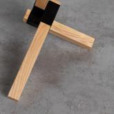 Beistelltisch Rund aus Holz (Ø40 cm) Kalvan , Miniaturansicht 5