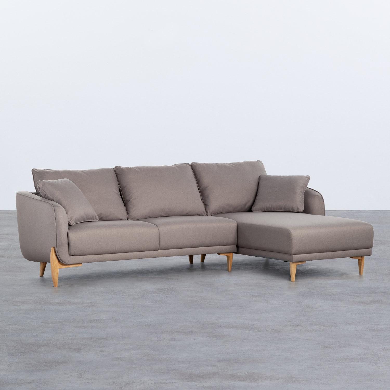 Sofa Chaiselongue rechts 4-Sitzer- aus Stoff Rhemy, Galeriebild 1