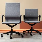 Verstellbarer Bürostuhl mit Räder Mid Back Jones, Miniaturansicht 2