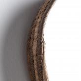 Wandspiegel Rund aus Holz (Ø27 cm) Banli, Miniaturansicht 4