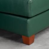 Sofa Chaiselongue rechts 4-Sitzer- aus Kunstleder Kesha, Miniaturansicht 4