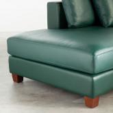 Sofa Chaiselongue rechts 4-Sitzer- aus Kunstleder Kesha, Miniaturansicht 5