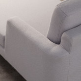 Sofa Chaiselongue links 3-Sitzer- aus Stoff Jhollis, Miniaturansicht 5