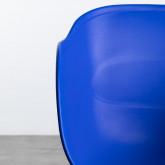 Esszimmerstuhl aus Polypropylen und Metall Jed Parxis, Miniaturansicht 4