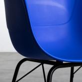 Esszimmerstuhl aus Polypropylen und Metall Jed Parxis, Miniaturansicht 5