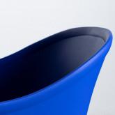 Esszimmerstuhl aus Polypropylen und Metall Jed Parxis, Miniaturansicht 6