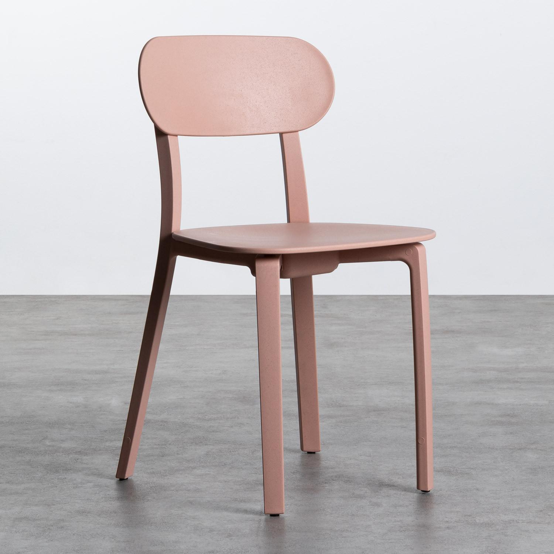 Outdoor Stuhl aus Polypropylen Dasi Lisa, Galeriebild 1