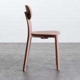 Outdoor Stuhl aus Polypropylen Dasi Lisa, Miniaturansicht 3