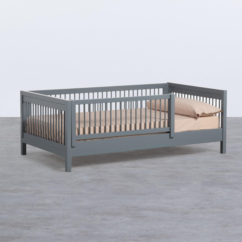 Kinderbett aus Holz Odam für Matratze 110cm, Galeriebild 1